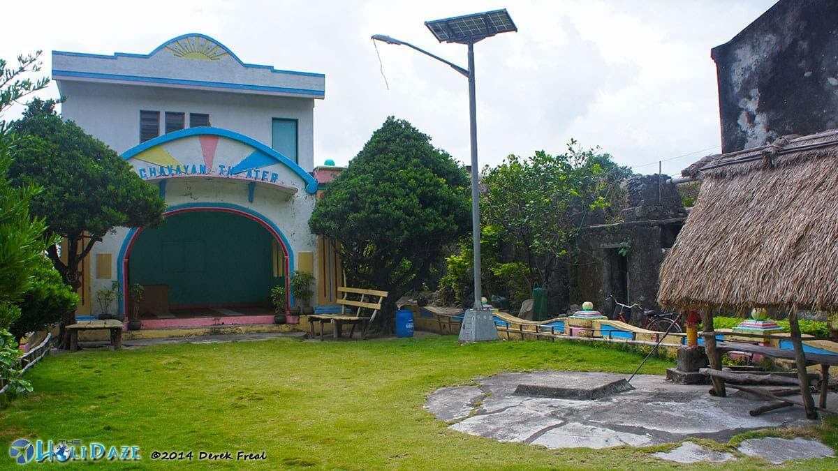 Chavayan Theater in Chavayan village, Batanes, northern Philippines