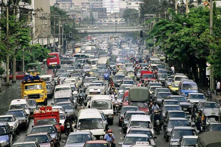 Life in the Philippines: Manila traffic