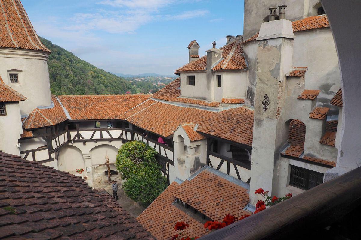 Bran Castle in Transylvania, aka Dracula's Castle, the most famous destination in all of Romania