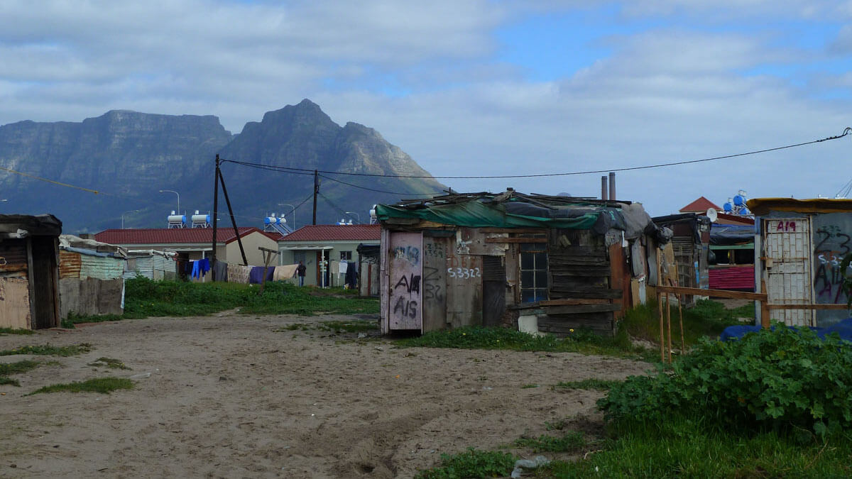 Langa Township, South Africa, a great place for volunteering in Africa