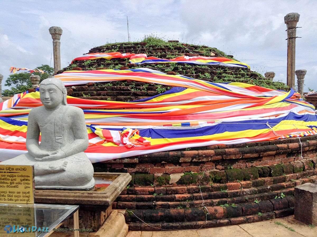 Girihadu Seya in Trincomalee, Sri Lanka