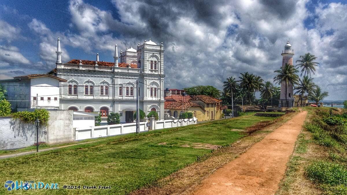 View from a Sri Lankan tuk-tuk