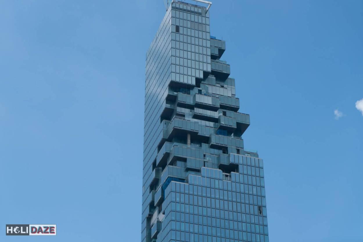 The architecture of Bangrak in Bangkok, Thailand