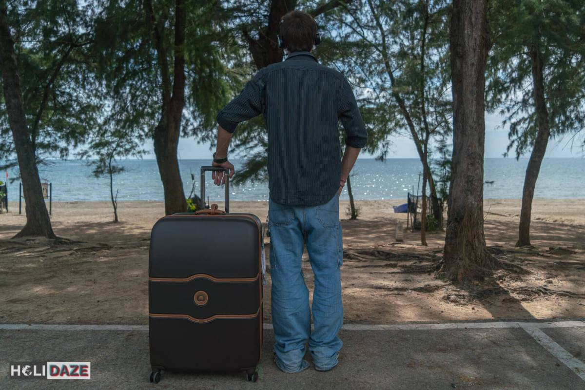 Every digital nomad needs Delsey luggage