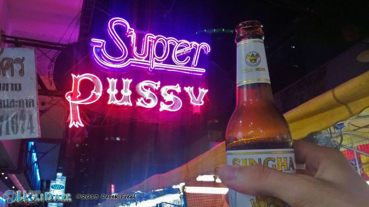 Patpong is one of Bangkok's notorious red light districts where the world is your oyster