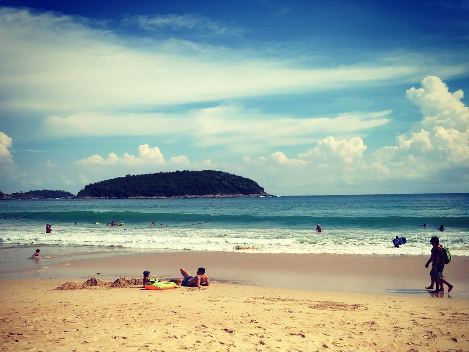 Naihan Beach, Phuket, Thailand