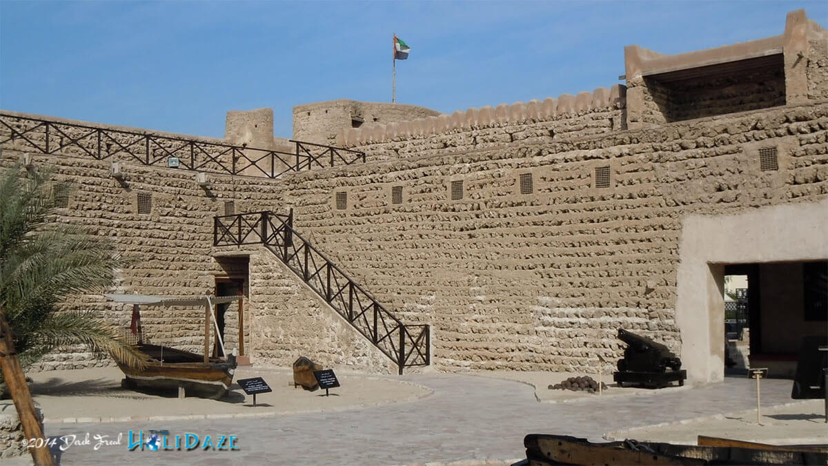Visit the Dubai Museum and Al Fahidi Fort, one of the best nearly free things to do in Dubai