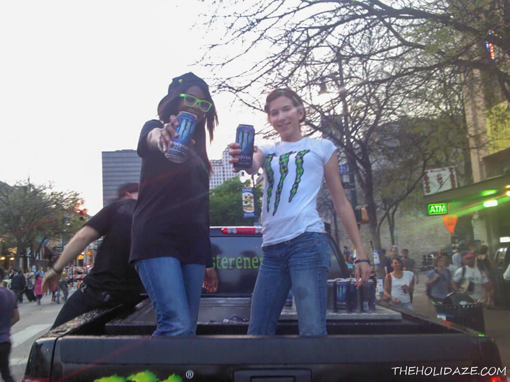 Monster truck at SXSW 2012 in Austin, Texas