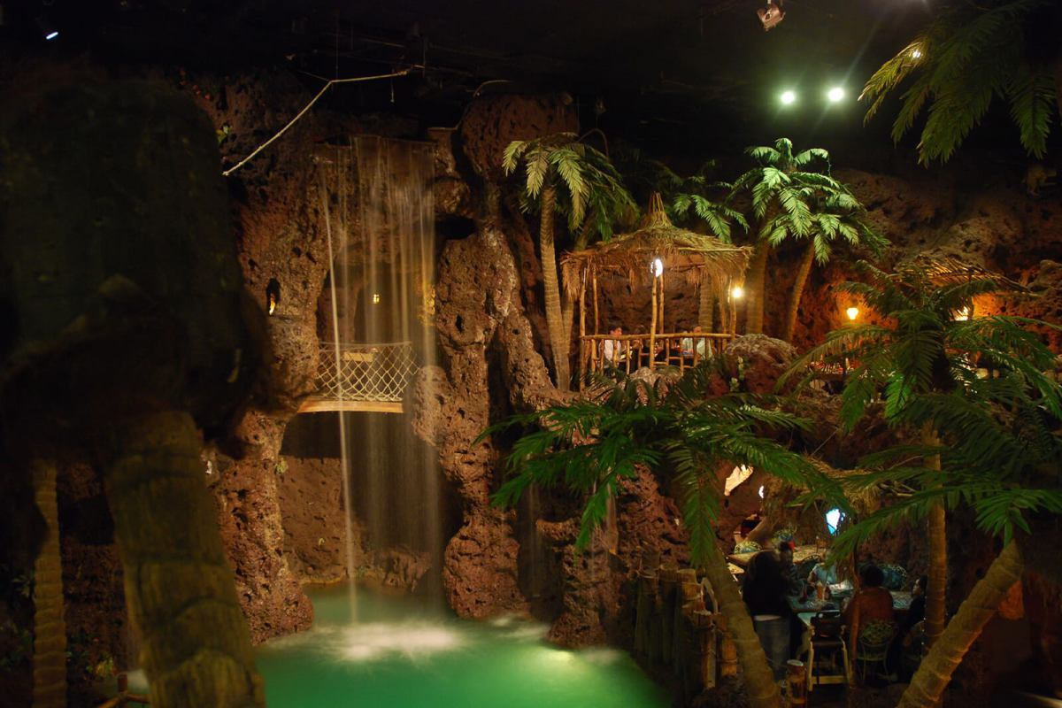 Casa Bonita is the Colorado restaurant famous for it's elaborate jungle interior and one of the quirky, unique things to do in Denver. And yes, it's the same place from South Park.