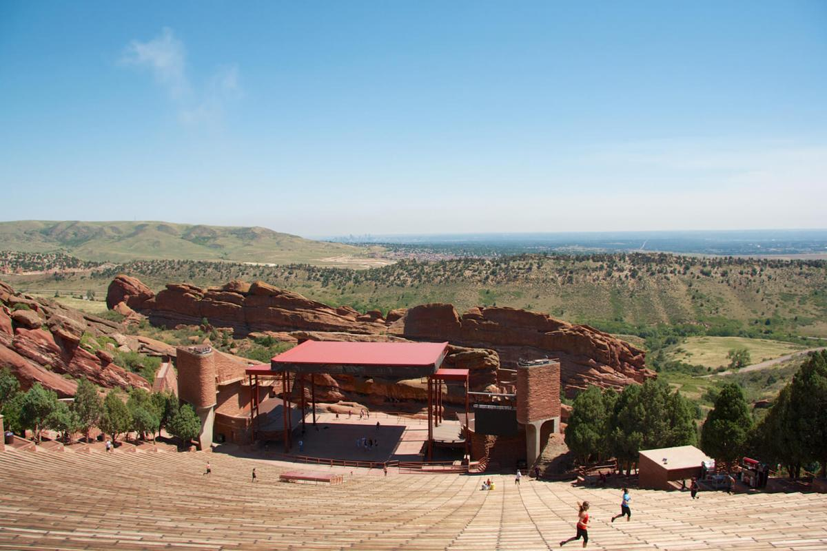 Red Rocks Amphitheater is one of the top things to do in Colorado