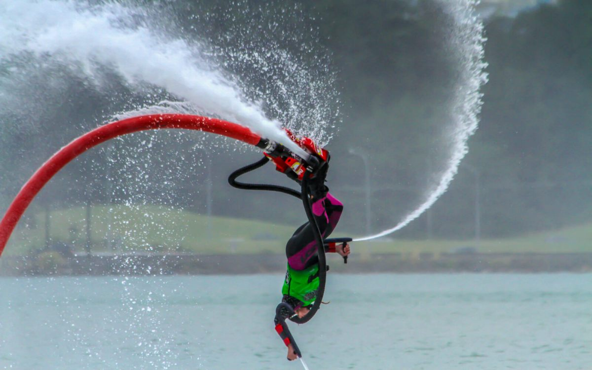 Fly boarding is one of the unique and offbeat South Padre Island activities making Texas tourism awesome