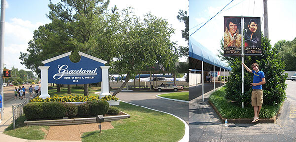Graceland in Memphis, Tennessee