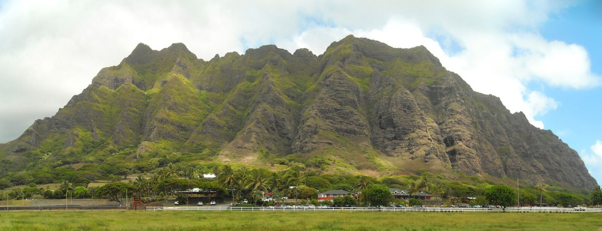 Kualoa Ranch on Oahu, home of Jurassic Park, one of the offbeat things to do in Hawaii