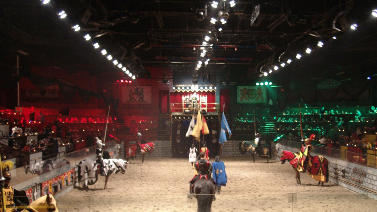 Medieval Times Dinner & Tournament is just one of the offbeat Orlando, Florida, destinations that should be on your to-do list -- it's a restaurant that you will never forget!