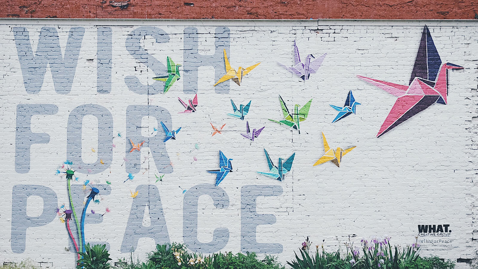 Keep an eye out for offbeat Nashville street art as you explore the city