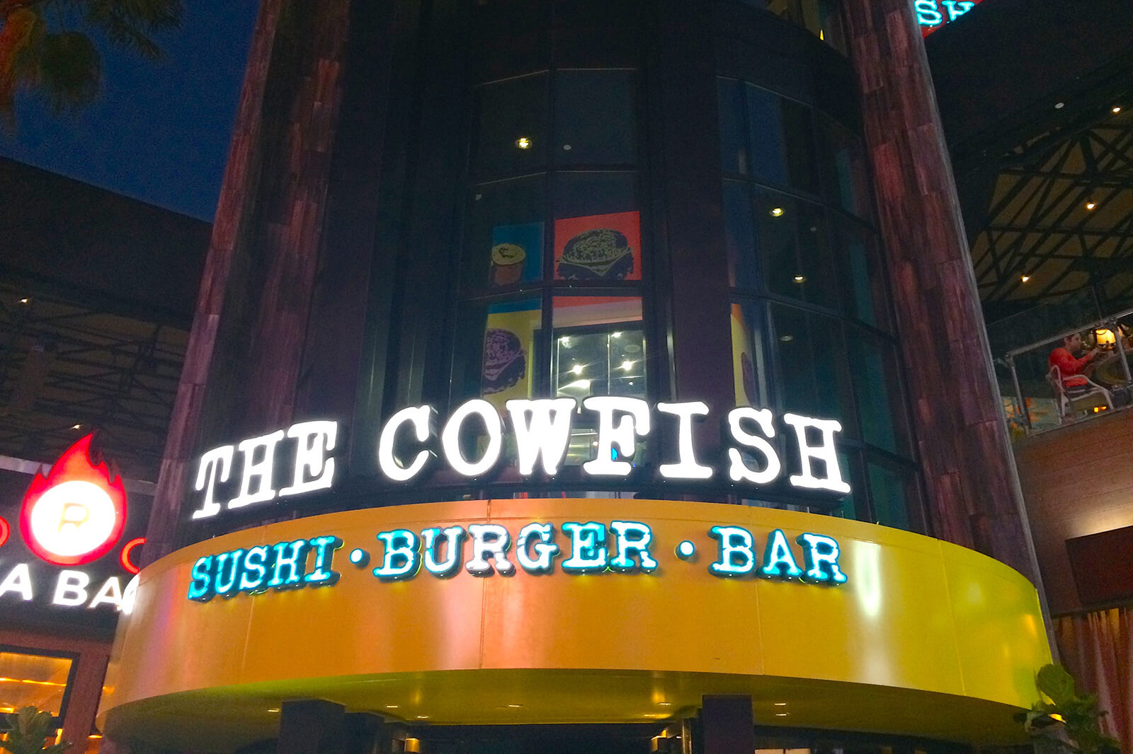 The Cowfish, the first and only burger and sushi bar in the world, is one of the offbeat Orlando restaurants keeping the city unique