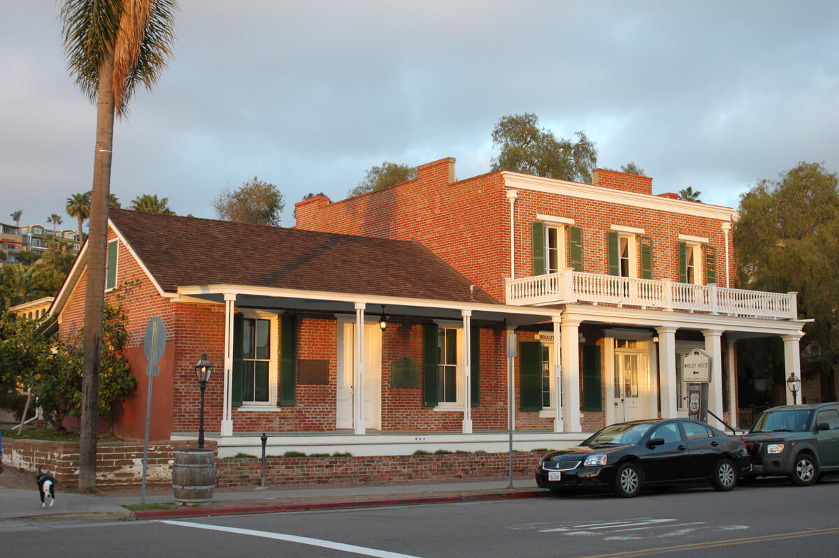 The Whaley House in San Diego, the Most Haunted House in America