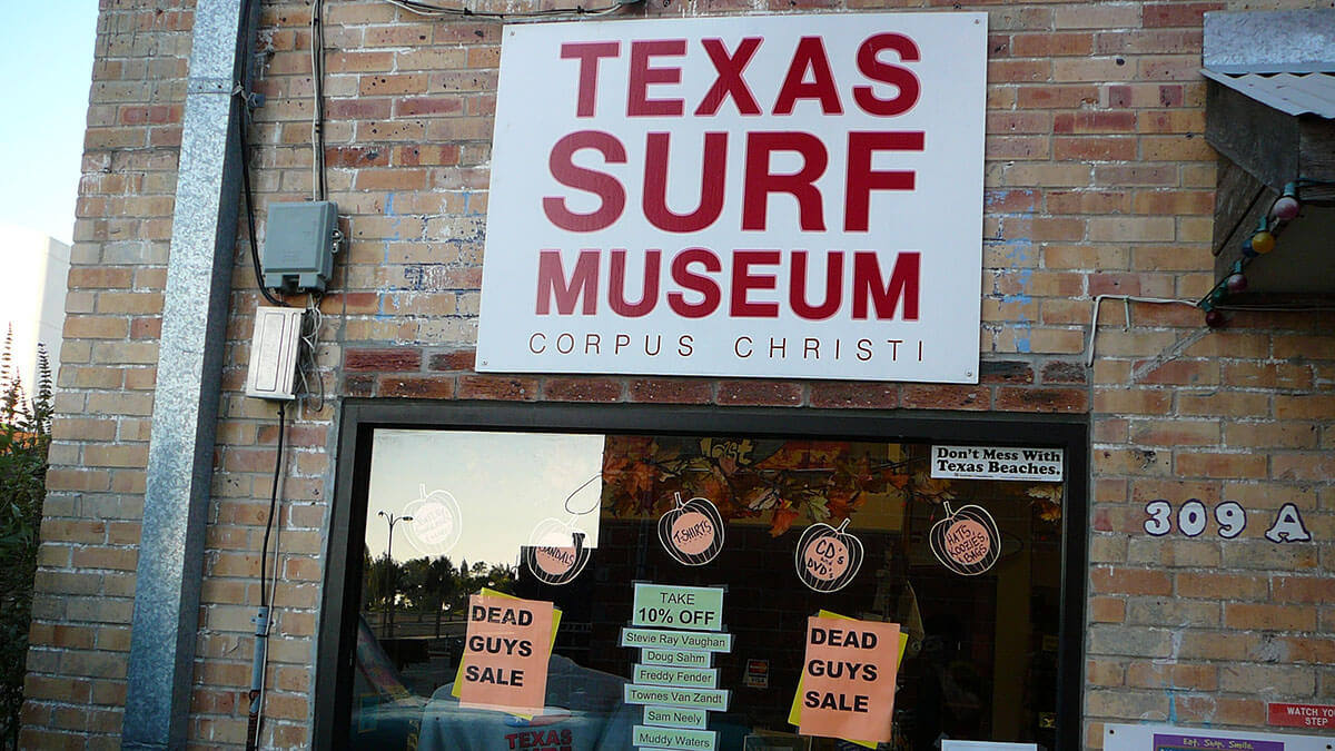 The Texas Surf Museum is one of my favorite offbeat Corpus Christi activities