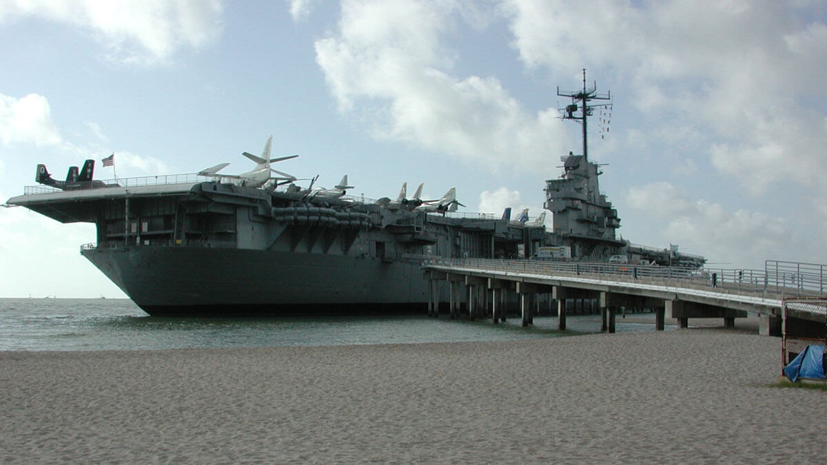 Visiting the USS Lexington is the most popular unique and offbeat Corpus Christi activity