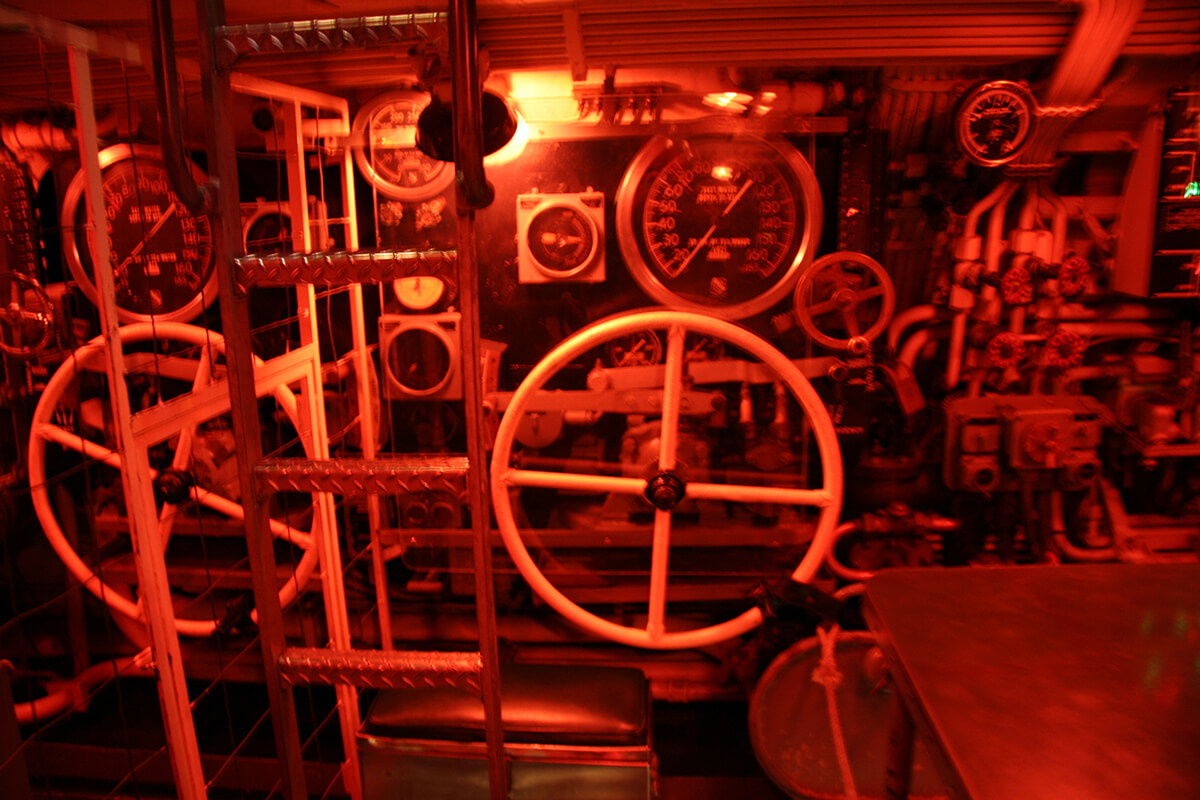 Exploring the USS Pampanito in San Francisco, California