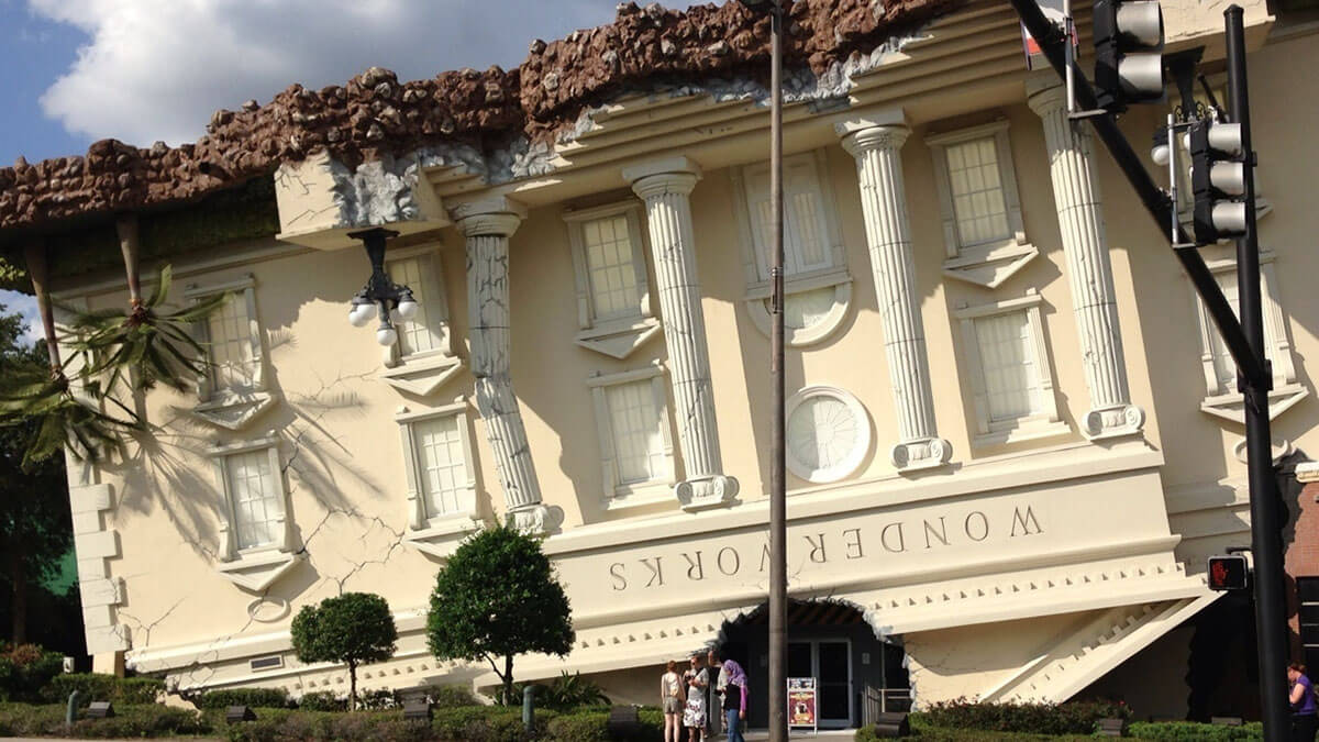 WonderWorks! in Orlando, Florida, an amazing offbeat -- and educational -- attraction