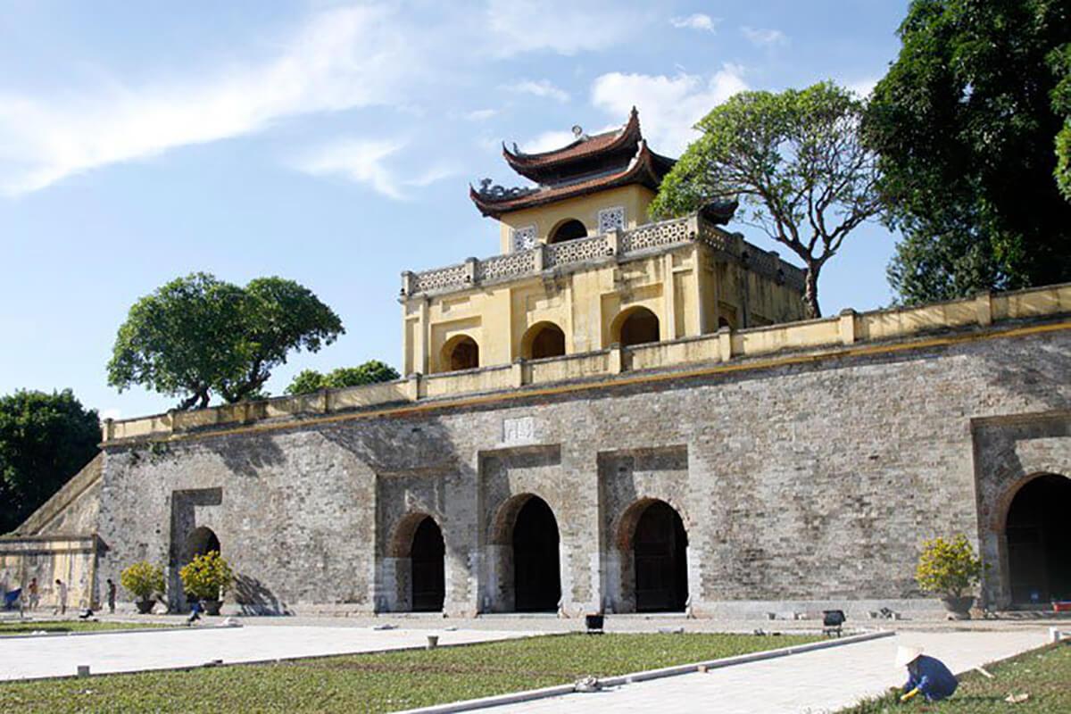 Imperial Citadel in Hanoi, Vietnam