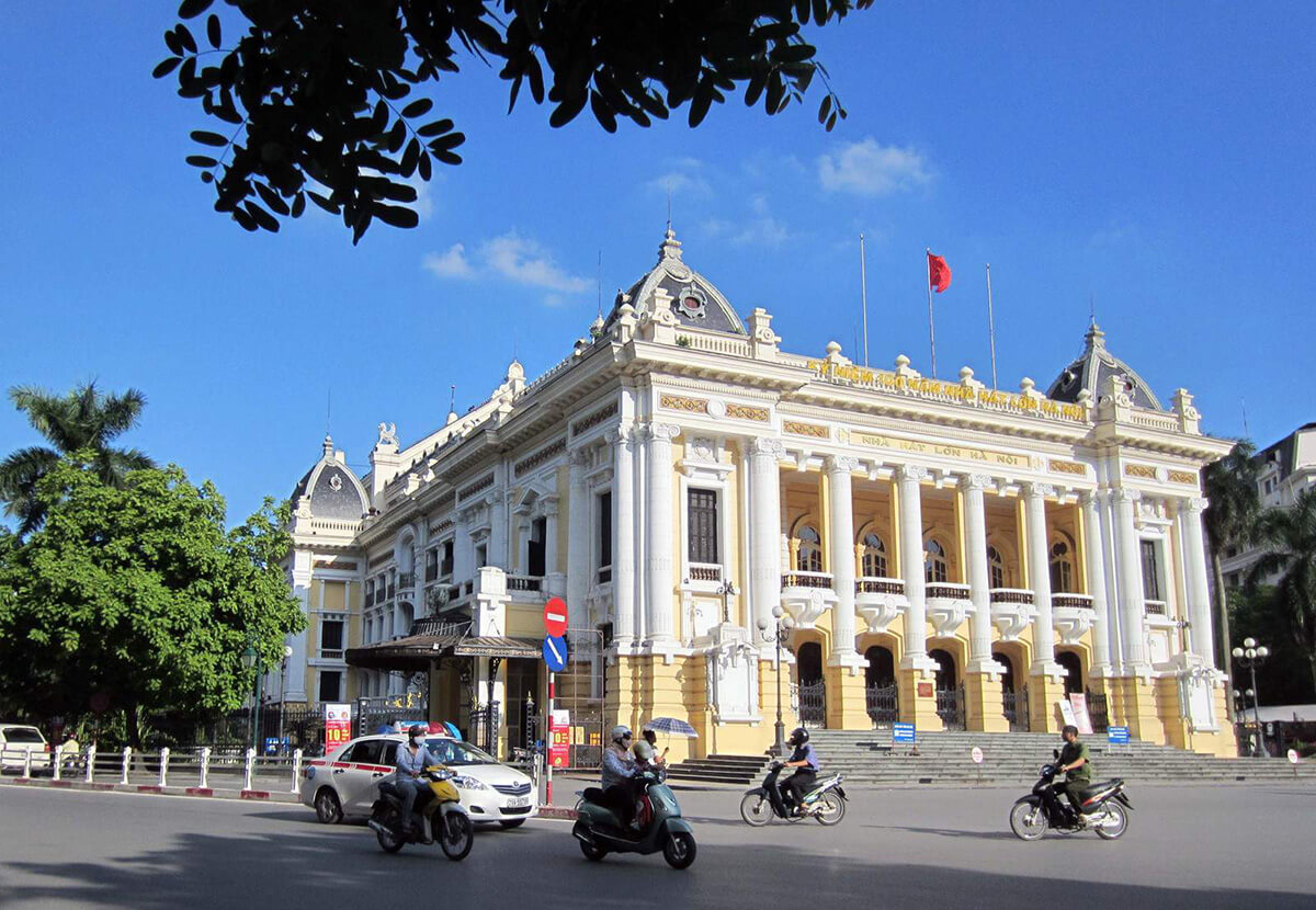Hanoi Opera House built by French in 1911