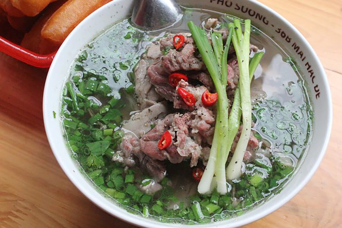 Pho is a noodle dish and the most famous (and most delicious) of all Vietnamese food