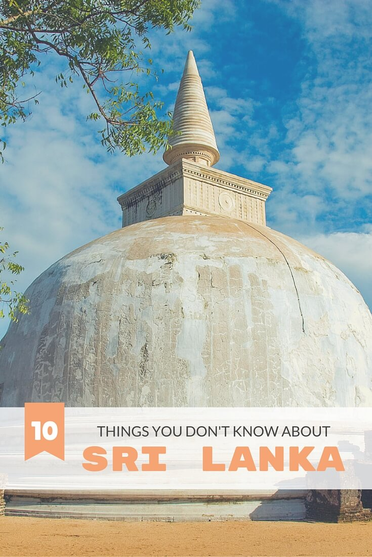 Presenting the top 10 things you didn't know about Sri Lanka -- otherwise known as India for beginners ;) #travel #srilanka #travelguide #traveltips #knowbeforeyougo #offbeat #interesting
