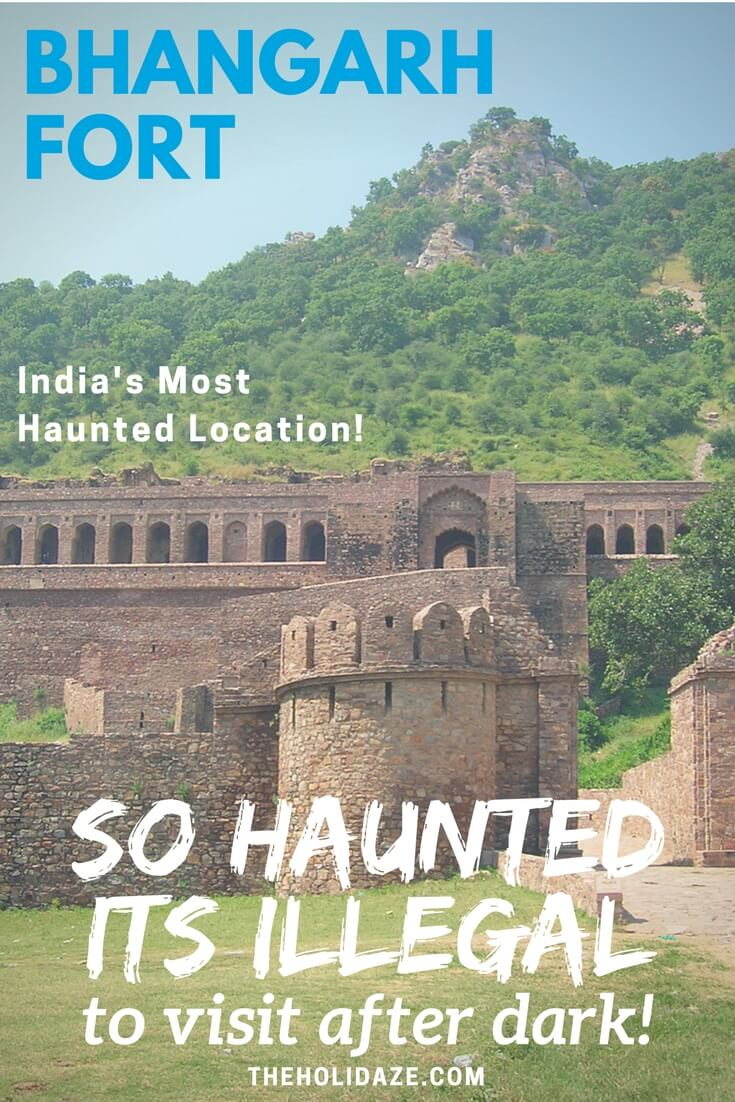 Bhangarh Fort, the most haunted location in India, is surprisingly close to Jaipur