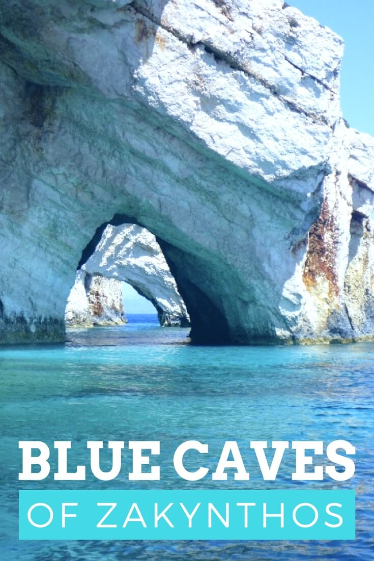 Photos of the breathtaking Blue Caves of Zakynthos Island, Greece
