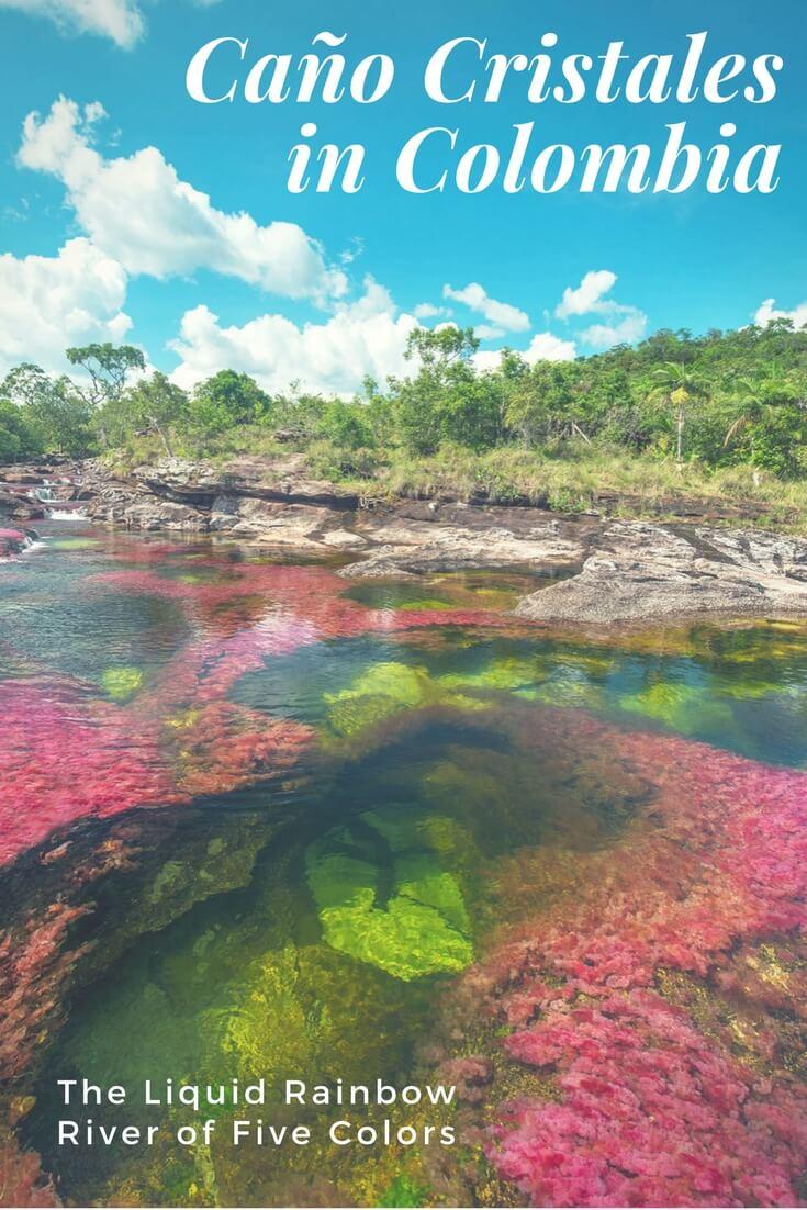 Caño Cristales — Colombia's Liquid Rainbow, the River of Five Colors