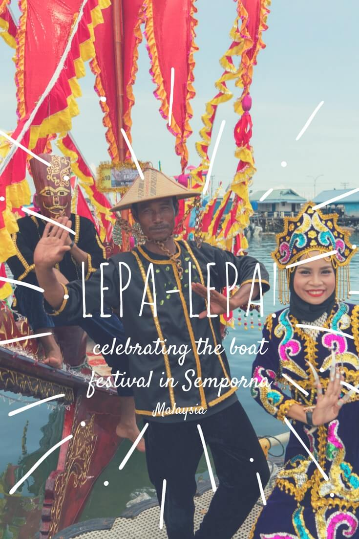 The Regatta Lepa Festival in Semporna, Sabah, Malaysian is a cool and colorful water festival