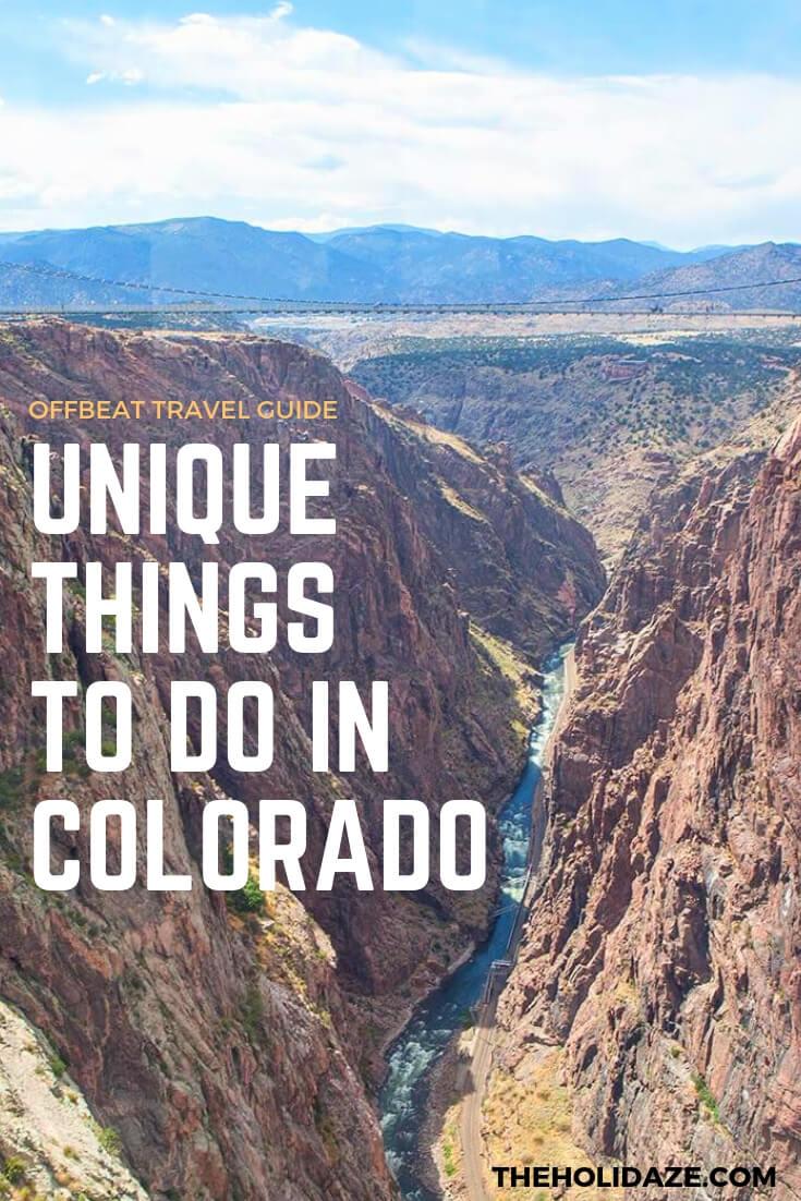 Top 7 Unique Things To Do in #Colorado #travel #travelguide #traveltips #offbeat #budgettravel #beautifuldestinations #colorado #denver