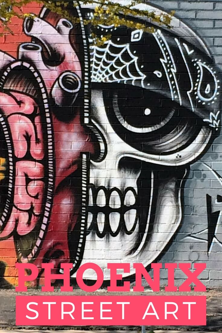 Phoenix street art photo collection and #travelguide #arizona #phoenix #streetart #traveltips #photography #artwork #usa #holidaze