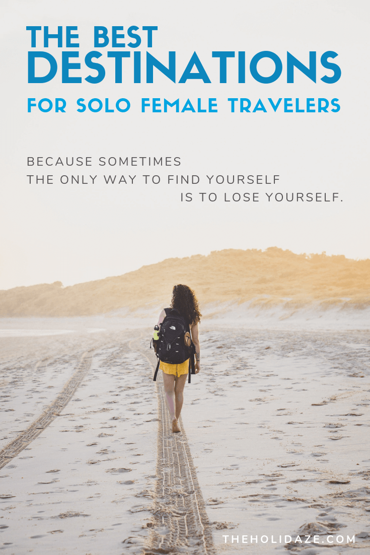 The best destinations for solo female travelers #travel #inspiration #motivation #traveltips #solotravel #travelinspiration #beautifuldestinations