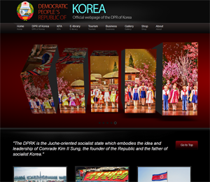 North Korea Copies My Blog!