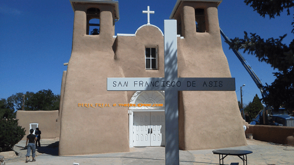 Road Trip To San Francisco de Asis Mission Church, Taos, New Mexico, USA
