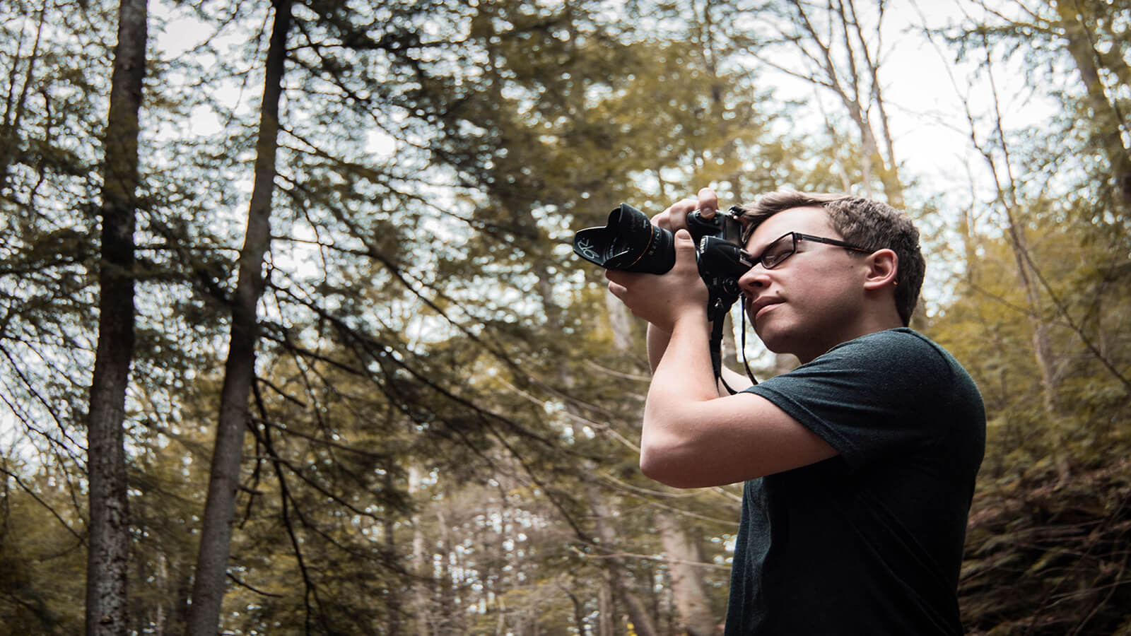 Photographing the beautiful Hocking Hills State Park in Logan, Ohio