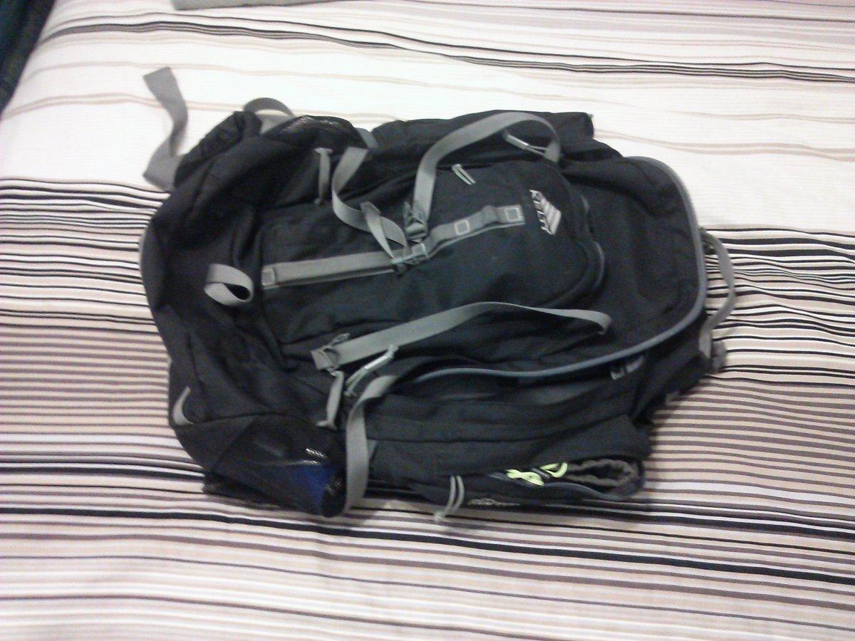 """My Trusty Backpack, aka """"Big Bertha"""""""