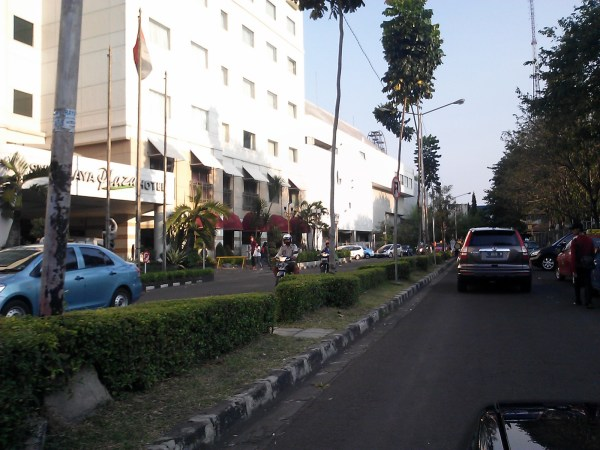 A Strange Street in Surabaya