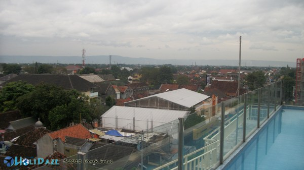 Rooftop At EDU Hostel, Jogja