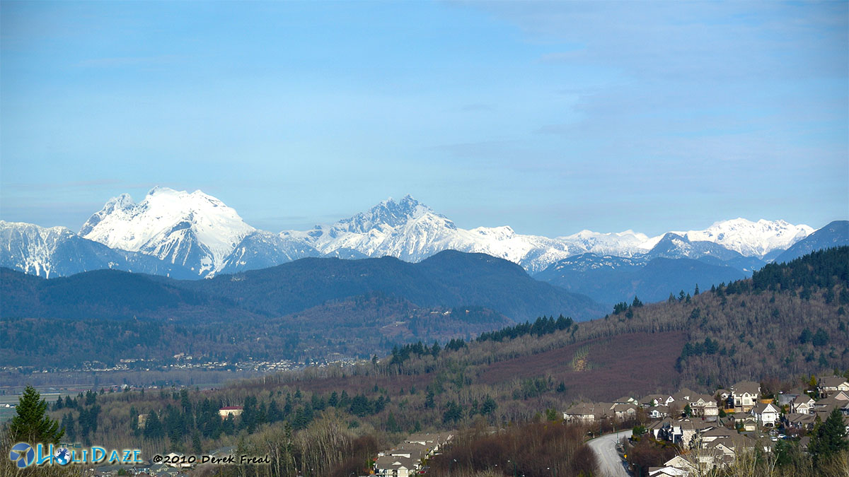 North Shore Mountains, Vancouver, Canada