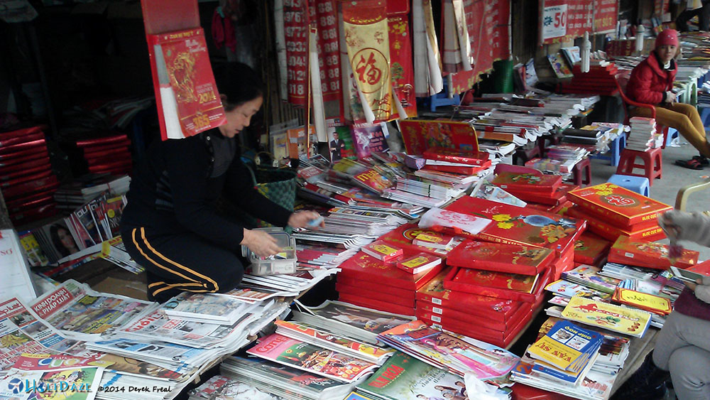 Magazine / SIM Card Store In Hanoi, Vietnam