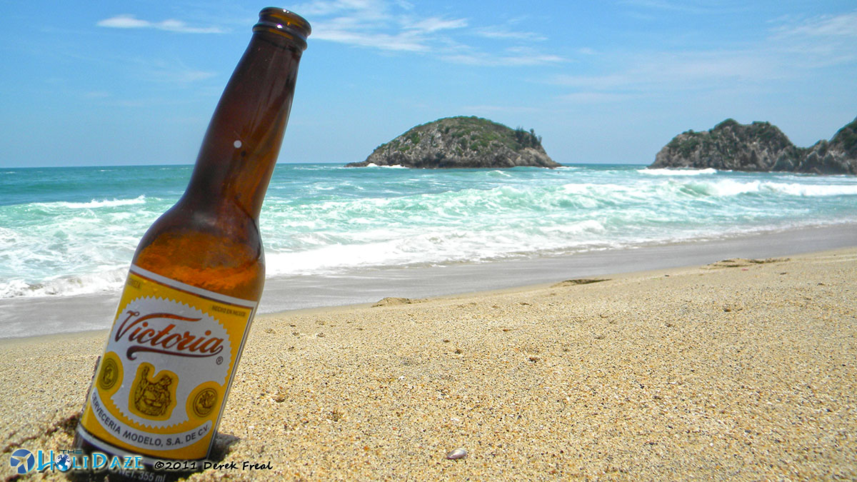 Victory beer in Mexico