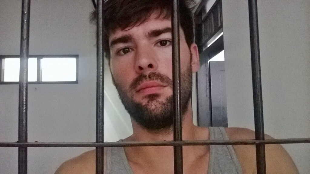 Derek Freal is locked up abroad