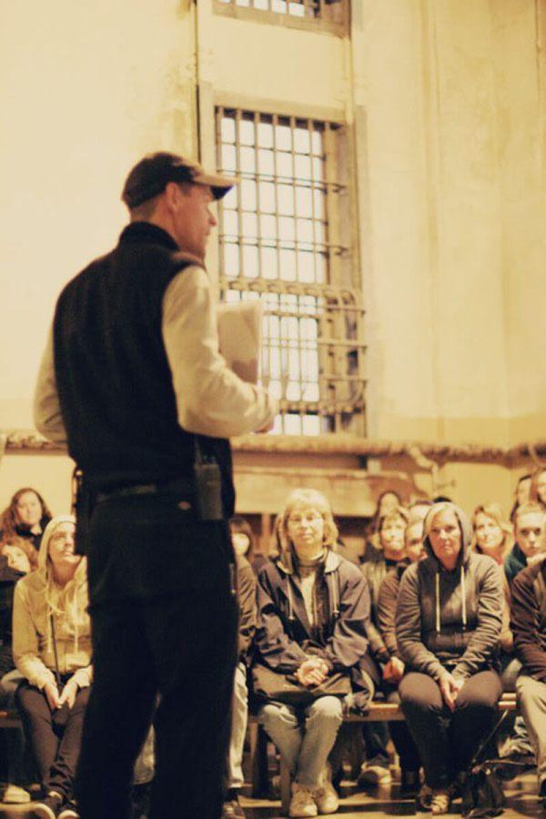 Night tour of Alcatraz, AKA The Rock