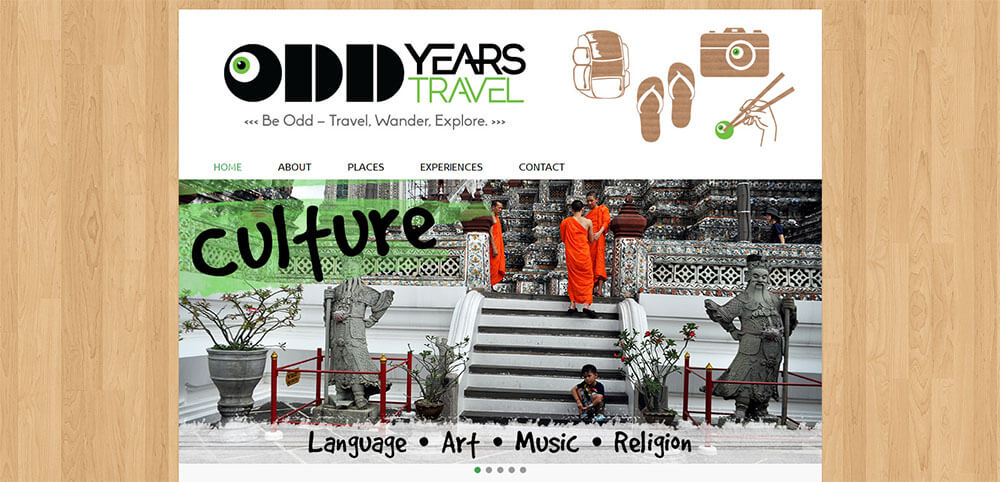 Best New Travel Blogs: Odd Years Travel