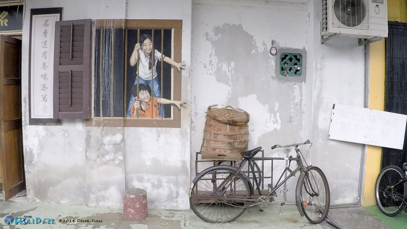 3D Penang Street Art