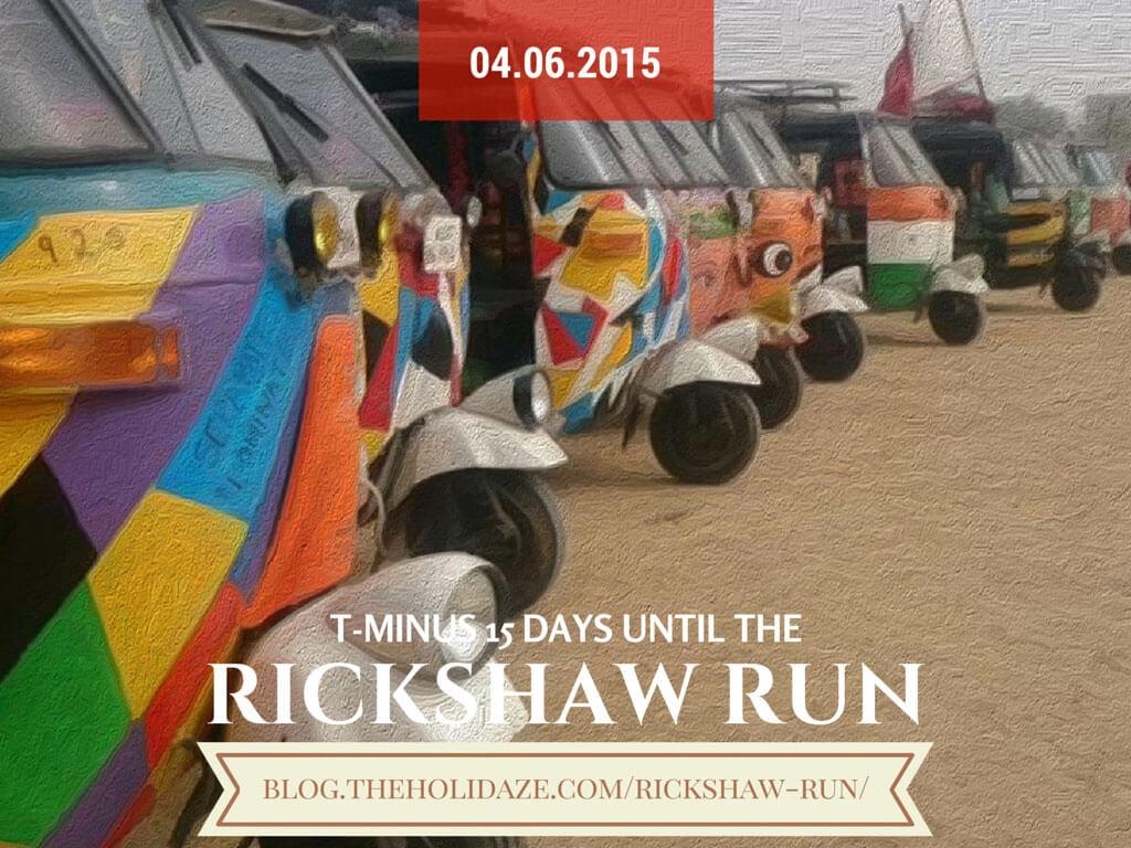 Rickshaw Run April 2015...T-15 days